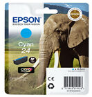 Genuine Epson 24 / T2422 Cyan Printer Ink Cartridge