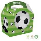 Childrens Sports Football Soccer Boxes ~ Birthday Party Meal Lunch Food Gift Box