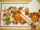Seasons Harvest Valley Placemats & Napkins You Pick Thanksgiving Fall Each Sep.