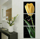 Tulip #12 Modern Home Decor Canvas Art Print Set High Quality Multi-Colors