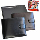 Brand New Coti Collection Designer Men's Wallet (Black or Brown) RRP $80