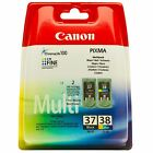 Canon PG-37 CL-38 Genuine Printer Ink Cartridges 2145B009