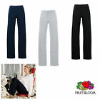 Lady Fit Jog Pants Fruit of the Loom Damen Jogginghose Sweathose 1 oder 2er Pack