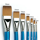 Winsor & Newton Artists Cotman FLAT Brushes. Watercolour & Acrylic Paint Brush