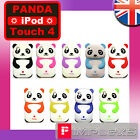 CUTE SILICONE PANDA SOFT CASE FOR IPOD TOUCH 4TH GEN SAFARI COVER ANIMAL SKIN