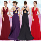 Long Party Bridesmaid Evening Formal Winter Dresses 09008 Size 8 10 12 14 16 18