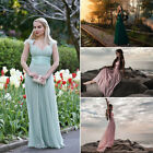 Ever-Pretty Long Chiffon Bridesmaid Gown Evening Formal Party Maxi Dresses 09672