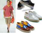 Mens Vintage Brogues Lace Up Punk Oxford Flat High Platform Creeper Shoes 6.5-10