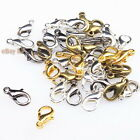 Wholesale Plated Colors Alloy Lobster Clasps Jewelry Findings Fit DIY Making