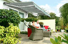 4m Half Cassette Electric Garden Patio Awning Sun Canopy Shade Retractable Cover