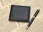 100% Luxury Mens Casual Genuine Leather Bifold Credit Card Billfold Wallet Purse