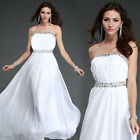 Homecoming Shinning Prom Evening Formal Bridesmaids Women Bridal Gown Dress