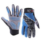 Fashion Bike Full Finger Gloves For Outdoor Sports Cycling Bicycle Motorcycle US
