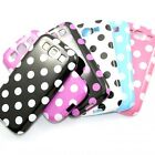 TPU Gel Polka Dots Rubber Back Case Cover Skin for Samsung Galaxy SIII S3 I9300