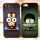 Marvel Comics The Avengers Iron man The Hulk Hard Case Cover Skin For iPhone 5