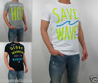 NWT HOLLISTER Men Muscle Slim Fit Santa Margarita T Shirt Tee By Abercrombie