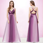 Ladies Sexy V Neck Maxi Long Evening Formal Party Dress Prom Cocktail Gown 09735