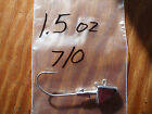 20 1.5oz S9 Shad Head Jigs on Eagle Claw 635 Saltwater 6 0 or 7 0 Hooks