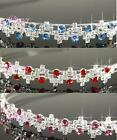 Bridesmaid Red Pink Blue Crystal Silver Headband Tiara  Prom Party T079p 5choice