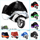 XL/XXL/XXXL Motorcycle Cover Rain Protection Breathable Waterproof Motor Bike