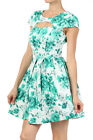 Ixia Jade Green 50s Style Dress Cut-Out bust pinup