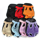 Nylon Pet Dog Carrier Backpack Front Net Travel Backpack Bag ANY SIZE and COLOR