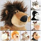 cute plush toy Nici forest animal lion tiger mmonkey giraffe hand puppet gift