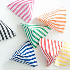 20 x CANDY STRIPE PAPER SWEET FAVOUR BUFFET BAGS -5x7 INCHES
