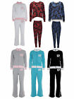 WOMEN LADIES FULL LENGTH TRACKSUIT JOGGERS JACKET JOGGING BOTTOMS TROUSER 8-22