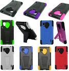 For LG Optimus G LS970  Hybrid Double Layer Stand Hard Soft Cover Case