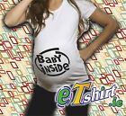 Baby Inside, Funny T-Shirt, Pregnant, Maternity, Gift, Quality 100% Cotton