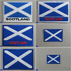 Scotland Flag Iron-On / Sew On Cloth Patch Badge Scottish Saint Andrew's Cross