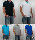 NWT HOLLISTER By Abercrombie Men 's Muscle Slim Fit Desert Springs Polo Shirt