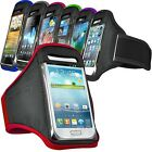 SPORTS ARMBAND POUCH CASE STRAP FOR VARIOUS SAMSUNG GALAXY MOBILES