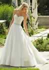 New White Ivory Wedding dress Bridal Gown Custom Size 2 4 6 8 10 12 14 16 18 20
