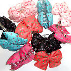 Rockabilly Polka Dot Heart Hair Clips Claws Barrettes Clasps Vintage Accessories