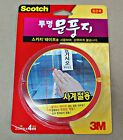 New 3M Scotch Clear Polyurethane Weatherstrip Draught Excluder Seal Door Window