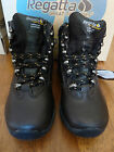 REGATTA KIDS GHYLLBECK JNR BROWN LEATHER TRAIL HIKING BOOTS   RRP £65   BNIB