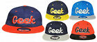 B91 ADULTS UNISEX GEEK SNAP BACK RETRO HIP HOP BASEBALL CAP HAT ADJUSTABLE SIZES