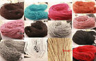 5/100m Man-made Leather Braid Rope Hemp Cord For Necklace Bracelet 3mm
