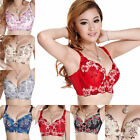 Womens Side Support Plunge Push Lift Up Lace C Cup Sexy Underwired Bra Hot Sell