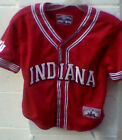 Indiana HOOSIERS Youth Baseball Jersey S M L 6-8 10-12 14-16 NWT