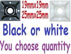 Cable tie self adhesive bases,black or white,big or small.1 or 100,You choose!