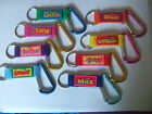 Personalised Carabiner Clip Keyring by John Hinde - Names A to E