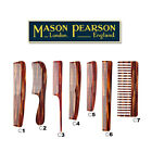 Mason Pearson HAIR COMBS - Hand Made & Tortoiseshell Colour - CHOOSE YOUR SIZE