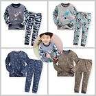 "2pcs NWT Vaenait Baby Toddler Kids Boy Clothes Sleepwear Pajama Set ""Fly Boy"""