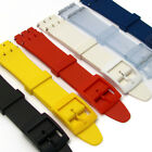 Resin Strap Band to fit Standard Swatch Watch 17mm choice of colours