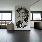 Tattooed Woman Wall Art Stickers Wall Decal