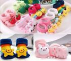 Cartoon Animal Cute  Newborn Unisex Baby Warm Socks Indoor Anti-slip Shoes Boots