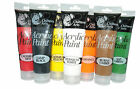 Children arts Acrylic paints in tube 8 different colours 120ml for painting/arts